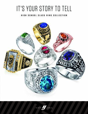Herff Jones Catalog and Ring